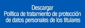 descarga politica de tratamiento de datos personales